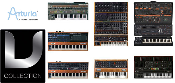 Arturia V Collection Virtual Synth Moog Modular Minimoog Yamaha CS 80 SCI Prophet V Prophet VS ARP 2600 Roland Jupiter 8 Alex Picciafuochi Alessandro