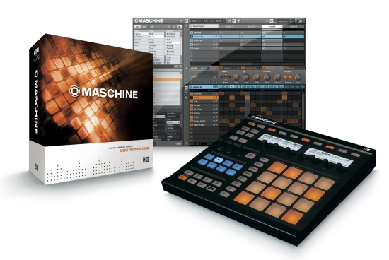 Native Instruments Maschine NI Alex Picciafuochi use Maschine Rainbox uses NI Maschine drum machine drum pad midi controller