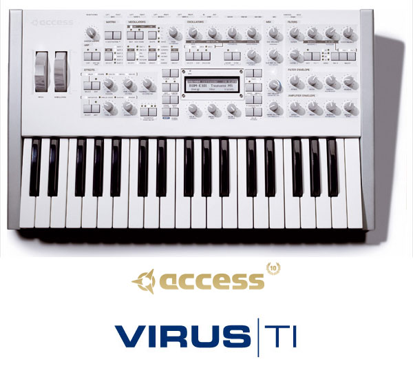access virus ti polar total integration alex picciafuochi alessandro picciafuochi alex synth museum collection virus synthsizer sintetizzatore techno electronica elettronica house trance chill out bar lounge minimal soundtrack composer producer dance